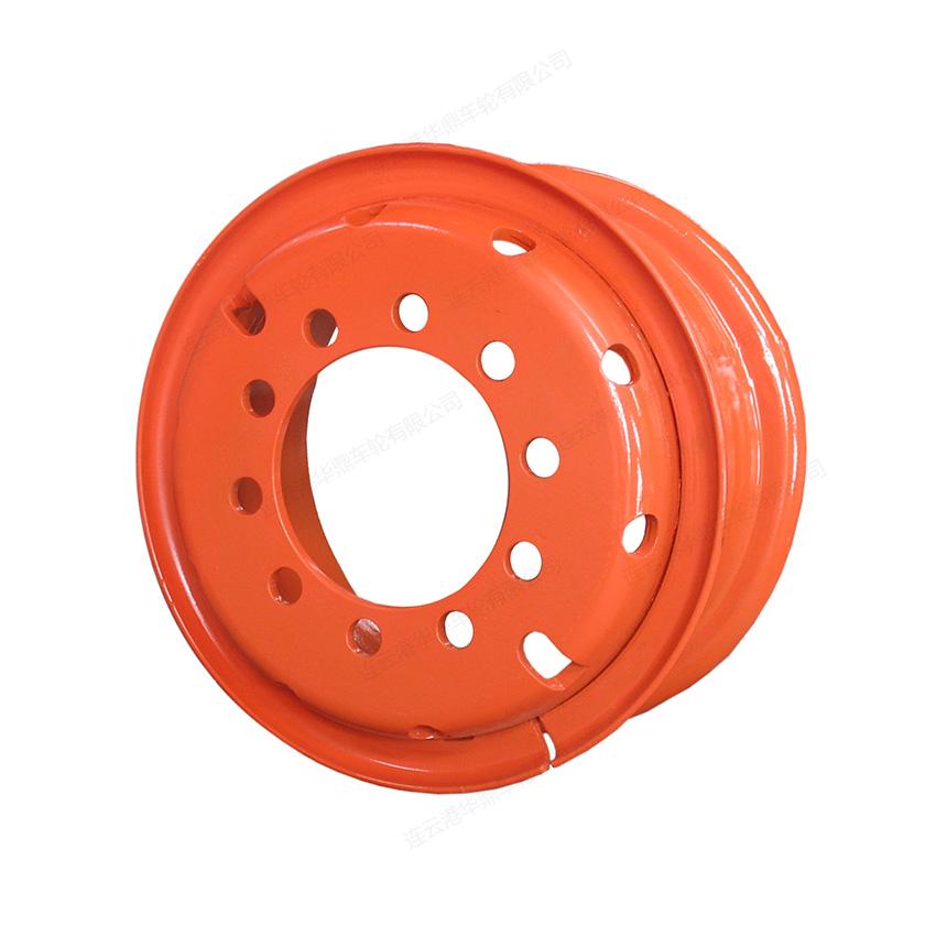 型钢车轮:6.50-15  安微低平板车